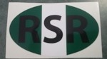 Rhodesian Bumper Sticker Green and white 2 for $9.95