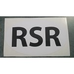 Rhodesian Bumper Sticker white special 2 for $9.95