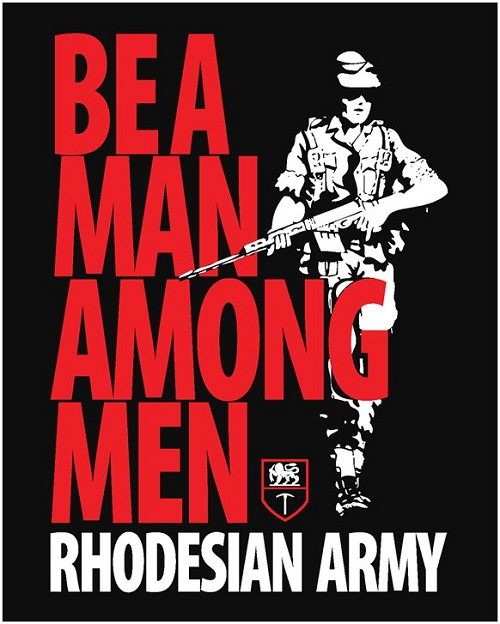 Rhodesian Army Posters