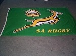 South African Springbok bunting flag