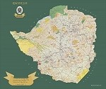 Rhodesian 1972 Land Tenure Map