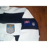 Northern Rhodesian Rugby Jersey Navy & White