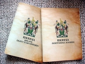 Rhodesian Reprints 2 books