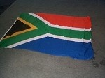 South African full size bunting flag