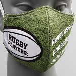 RUGBY PLAYERS NEVER USED PROTECTED UNTIL NOW MASK