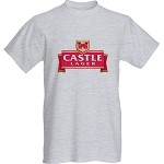 Castle  lager shirt select long or short sleeve along with colour