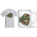 Rhodesia map shirt and coffee mug