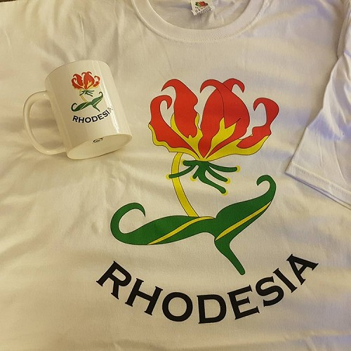 Rhodesia Shirt and coffee mug